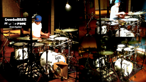 Surround Sound Drum Solo - Clint Maraña